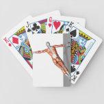 Setanta empuja hacia arriba 3 cartas de juego