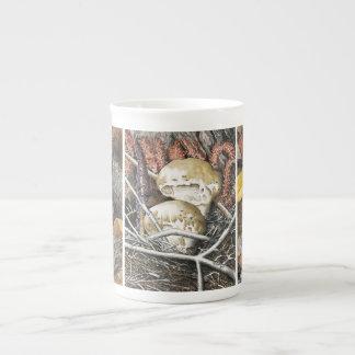 Setas 3 taza de porcelana