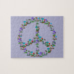 Setas de la paz rompecabeza con fotos
