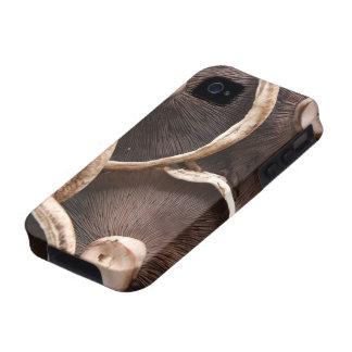 Setas de Portabello iPhone 4 Carcasa