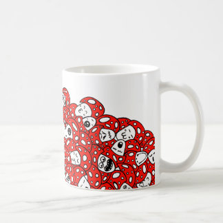 Setas locas taza de café