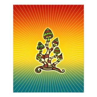 Setas mágicas - psicodélicas tarjetas publicitarias