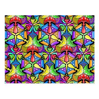 Setas mágicas tarjeta postal
