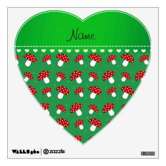 Setas rojas verdes conocidas personalizadas vinilo decorativo