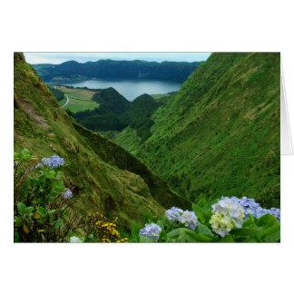 Sete Cidades, Azores Greeting Card