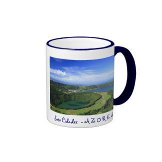 Sete Cidades, Azores Ringer Coffee Mug