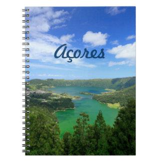 Sete Cidades - Azores Notebook