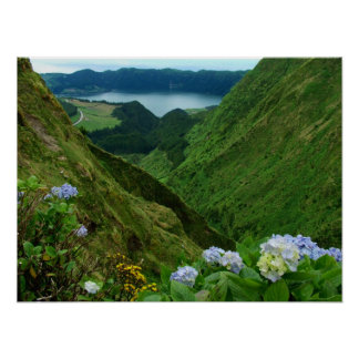 Sete Cidades Azores Poster