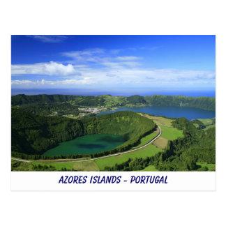 Sete Cidades, Azores Post Card