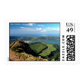 Sete Cidades - Azores Postage Stamp
