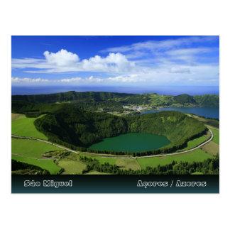 Sete Cidades - Azores Postcard