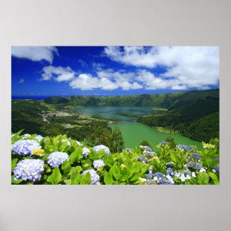 Sete Cidades, Azores Poster