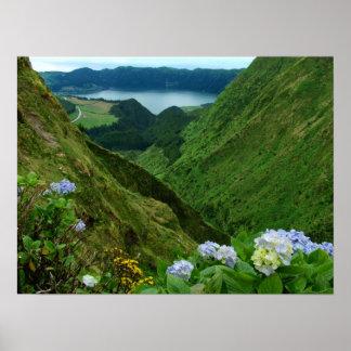 Sete Cidades, Azores Posters