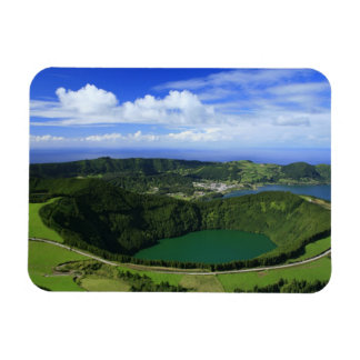 Sete Cidades - Azores Rectangular Photo Magnet