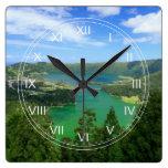 Sete Cidades - Azores Reloj Cuadrado