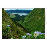 Sete Cidades, Azores Tarjeta De Felicitación