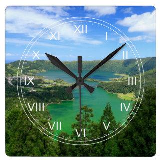 Sete Cidades - Azores Wall Clock