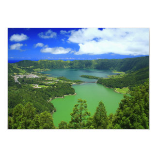 Sete Cidades lakes Card