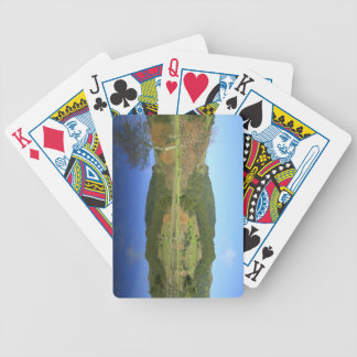 Sete Cidades lakes in Azores Bicycle Playing Cards