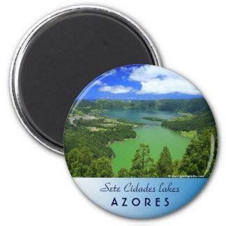 Sete Cidades lakes Magnet