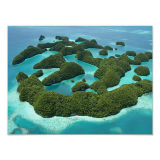Setenta islas, Palau Poster