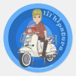 Seth Classic Round Sticker