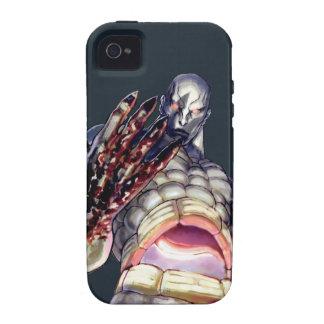 Seth con sangre en la mano vibe iPhone 4 funda