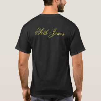 Seth Jones Black T T-Shirt