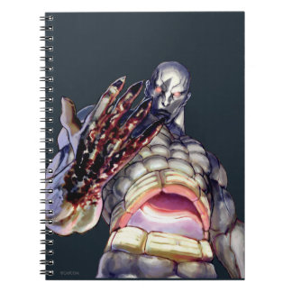 Seth With Blood on Hand Spiral Note Books