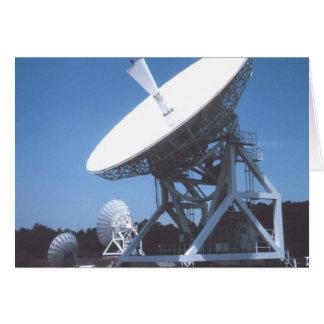 SETI Attenna Greeting Cards