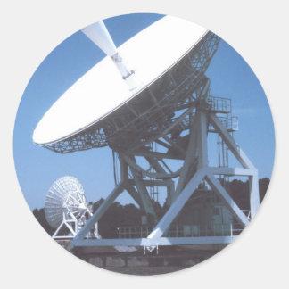 SETI Attenna Classic Round Sticker