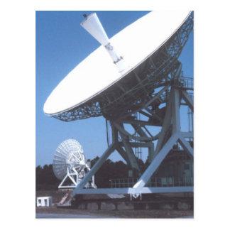 SETI Attenna Postcard