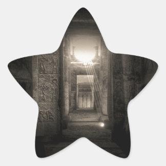 Seti I Temple Abydos 2 Star Sticker