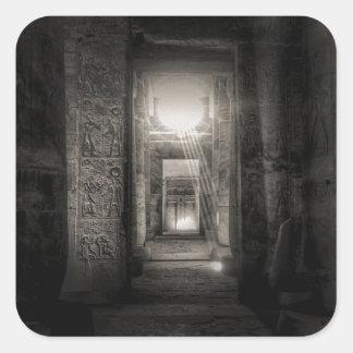 Seti I Temple Abydos Square Sticker