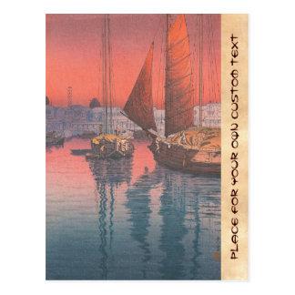 Seto Inland Sea Tomonotsu Tsuchiya Koitsu Postcards
