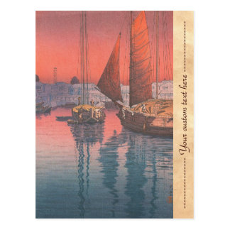 Seto Inland Sea Tomonotsu Tsuchiya Koitsu Postcard
