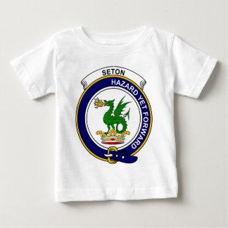 Seton Clan Badge T-shirt