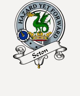 Seton Clan Badge Tee Shirt