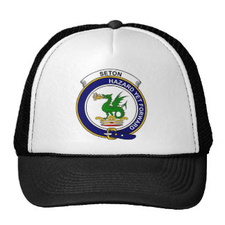 Seton Clan Badge Trucker Hat