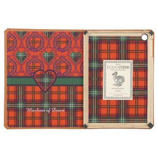Seton clan Plaid Scottish tartan Cover For iPad Air