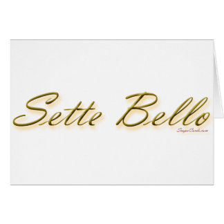 sette bello large - 16 inches wide copy card