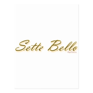 sette bello large - 16 inches wide copy postcards