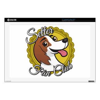 Setter Fan Club Laptop Decals