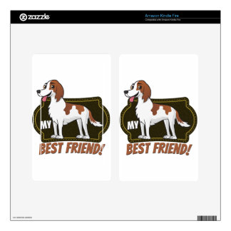 Setter is my best friend kindle fire decal