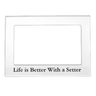 Setter Love Magnetic Picture Frame
