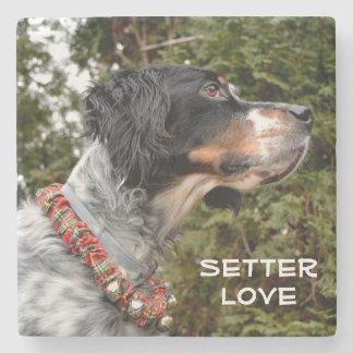 Setter Love Stone Coaster