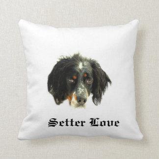 Setter Love Throw Pillow
