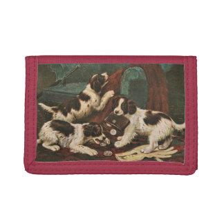 Setter Puppies wallet