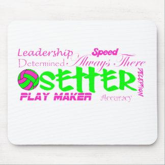 Setter Traits Mouse Pad