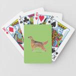Setteres irlandeses baraja cartas de poker